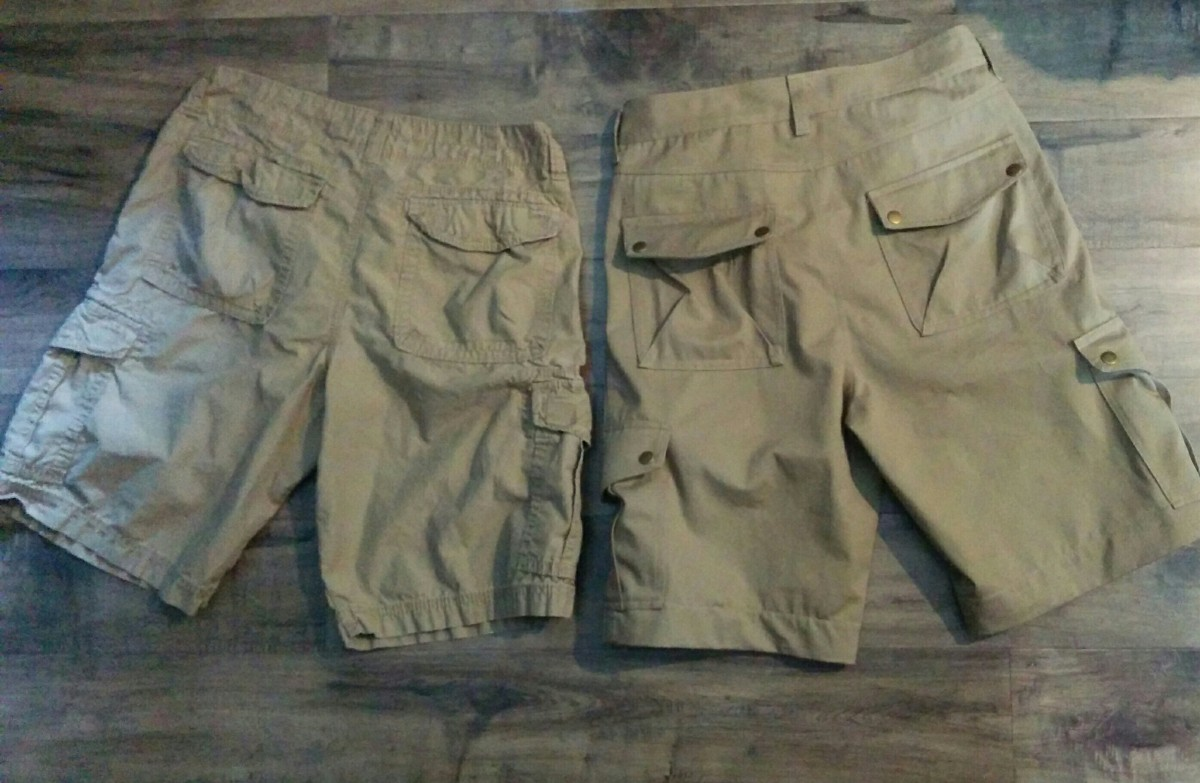 COMPLETED: Tommy's Cargo Shorts SABOYO-style!